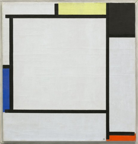 Piet Mondrian, Tableau 2, oil on canvas, 1922
